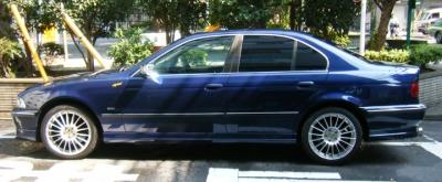 BMW 5シリーズ  540 全体