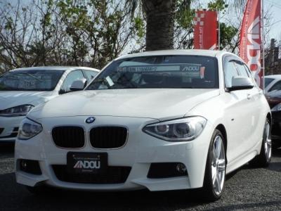 BMW 1シリーズ  116i Mスポーツ  ホワイト 1枚目