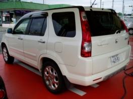 ホンダ CR-V  4WD 後方