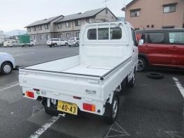 スズキ キャリイ トラック  660 KC エアコン・パワステ 農繁仕様 3方開 4WD  ホワイト 3枚目