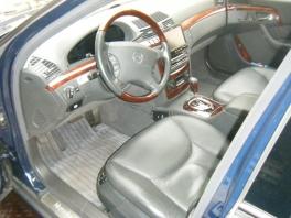 メルセデス・ベンツ Sクラス  S600ロング 内部