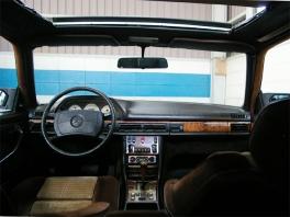 メルセデス・ベンツ Sクラス  560SEC AMG仕様 ブリスター 内部