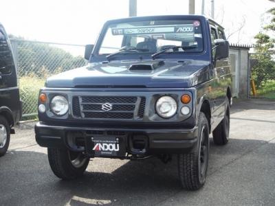 スズキ ジムニー  660 ワイルドウインド 4WD  ブルー 1枚目