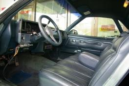 シボレー エルカミーノ  '86y最終モデル 内部