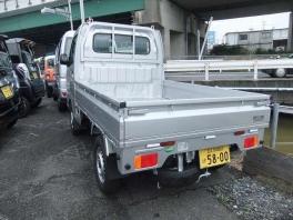 スズキ キャリイ トラック  660 KC 3方開 4WD  シルバー 3枚目
