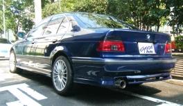 BMW 5シリーズ  540 後方