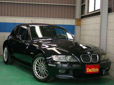 BMW Z3  Z3 クーペ  黒革・SR・DVDナビ 全体