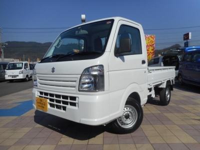 スズキ キャリイ トラック  KCエアコン・パワステ 未使用車 4WD 1枚目