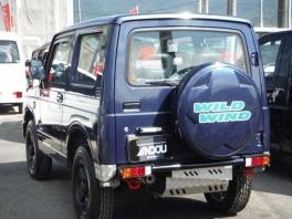 スズキ ジムニー  660 ワイルドウインド 4WD  ブルー 4枚目