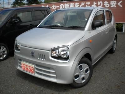 スズキ アルト  660 L 届出済未使用車 エネチャージ エコクール キーレス CD 1枚目