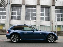 BMW Z3  Z3クーペ3.0i 後期最終モデル 青革 前方