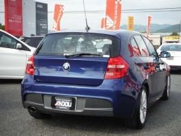 BMW 1シリーズ  116i Mスポーツパッケージ  ブルー 4枚目