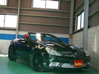 メルセデス・ベンツ SLKクラス  SLK200コンプ AMGエアロ  全体