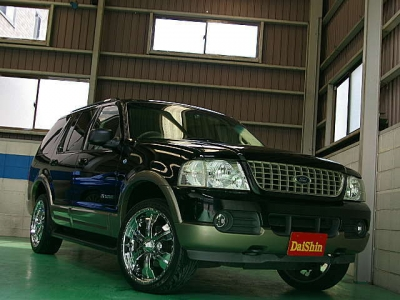 フォード エクスプローラー  エディーバウアー 本革/HDD 20AW 全体