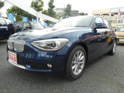 BMW 1シリーズ  116i スタイル 登録済み未使用車 ディープシーブルーメタ 1枚目