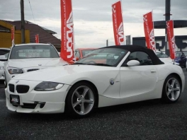 BMW Z4  ロードスター2.5i 電動オープン ホワイト 2枚目