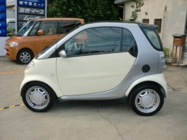 スマート スマート  クーペ ベースグレード 軽自動車登録可能 本革ハンドル ETC 4枚目