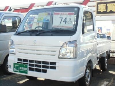 スズキ キャリイ トラック  660 KCエアコン・パワステ 3方開 4WD  ホワイト 1枚目