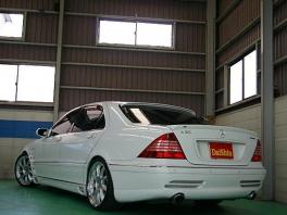 メルセデス・ベンツ Sクラス  S500L 後期仕様 Lorinser 後方