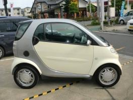 スマート スマート  クーペ ベースグレード 軽自動車登録可能 本革ハンドル ETC 3枚目