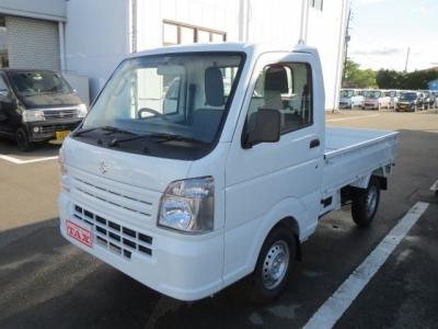 スズキ キャリイ トラック  KC AT車 10km 白 費用込89.9万円 メーカー保証 マット バイザー 1枚目