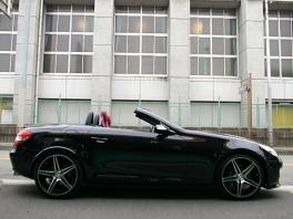 メルセデス・ベンツ SLKクラス  SLK350 D車/左H 純正マルチ赤革 前方