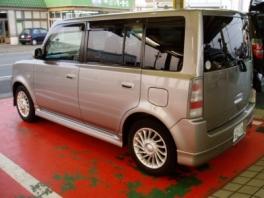 トヨタ BB  Z-Xバージョン 後方