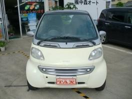 スマート スマート  クーペ ベースグレード 軽自動車登録可能 本革ハンドル ETC 2枚目