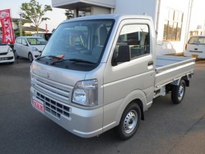 スズキ キャリイ トラック  KC 4WD AC PS MT5速 7km シルバー 費用込92.9万円 1枚目