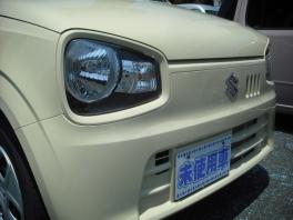 スズキ アルト  F 届出済未使用車 5GAS搭載 シフォンアイボリ− ESP 4枚目