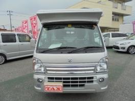 スズキ キャリイ トラック  KX  車中泊車 ソーラーパネル 1500Wインバーター 2枚目