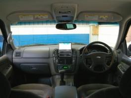 フォード エクスプローラー  XLT HDDナビ&ETC 20AW 内部