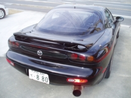 マツダ RX-7  RB 後方