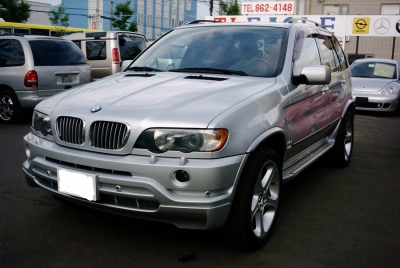 BMW X5  4.6is 全体