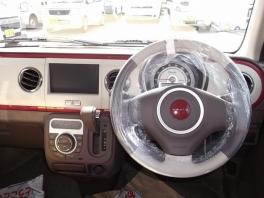 スズキ アルトラパン  660 ショコラ X 届出済未使用車 レザー調シート キセノンライト アルミ  4枚目