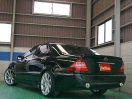 メルセデス・ベンツ Sクラス  S320 LorinserF01仕様 後方
