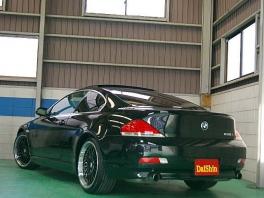 BMW 6シリーズ  630i 純正HDDナビ 赤革/SR 後方