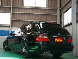 メルセデス・ベンツ Eクラスワゴン  E240ワゴン 07y後期仕様 後方