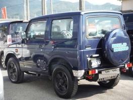 スズキ ジムニー  660 ワイルドウインド 4WD  ブルー 3枚目