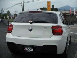 BMW 1シリーズ  116i Mスポーツ  ホワイト 4枚目