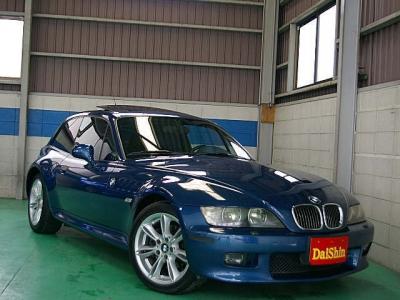 BMW Z3  Z3クーペ3.0i 後期最終モデル 青革 全体