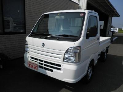 スズキ キャリイ トラック  KC 4WD★ 未使用車・エアコン・パワステ・保証書☆ ホワイト 1枚目