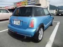 BMW ミニ  クーパー 社外ナビ ライトブルーII 3枚目