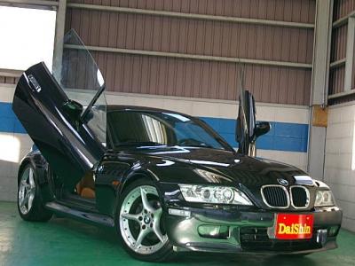BMW Z3  Z3クーペ タン革 ガルウイング車輌 全体