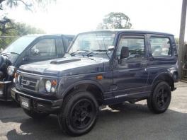 スズキ ジムニー  660 ワイルドウインド 4WD  ブルー 2枚目