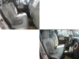 スズキ アルトラパン  ショコラ 660 X ホワイト2トーンルーフ 届出済未使用車 スマートキー 2枚目