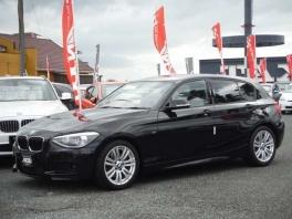 BMW 1シリーズ  116i Mスポーツ  ブラック 2枚目