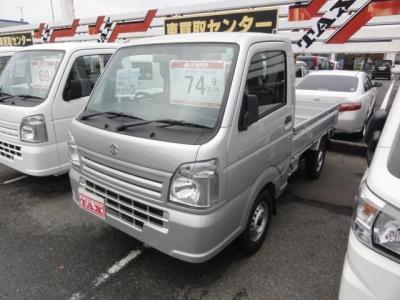 スズキ キャリイ トラック  660 KCエアコン・パワステ 3方開 4WD  シルバー 1枚目