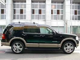 フォード エクスプローラー  XLT HDDナビ&ETC 20AW 前方