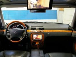 メルセデス・ベンツ Sクラス  後期AMG仕様 HDDナビ&地デジ搭載 内部